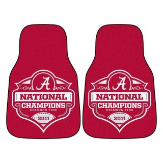 Alabama Crimson Tide 2011 BCS National Champions 2pc Car Truck Front