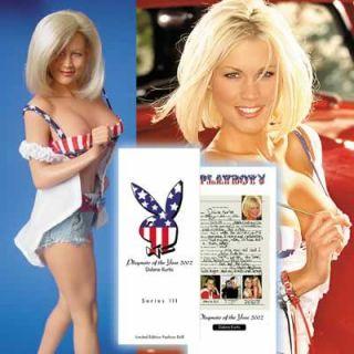 Playboy 3 Dolls V Silvstedt K McDougal Dalene Kurtis Marilyn Monroe