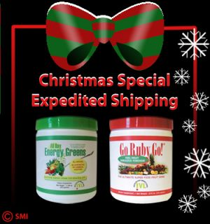 All Day Energy Greens Organic Christmas Sale 2 Canisters Energy