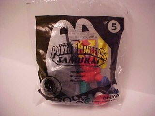 Power Rangers Samurai Megazord Toy 5 McDonalds Happy Meal
