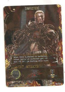 Resident Evil Foil Promo Foil Card Albert Wesker