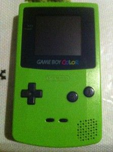 nintendo game boy color gameboy handheld console