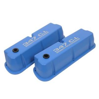Racing Die Cast Logo Aluminum Valve Covers 440409 Ford Small Block V8