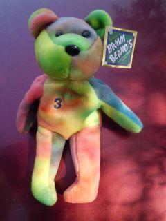 Alex Rodriguez Baseball Bamm Beanos Stuffed Teddy Bear