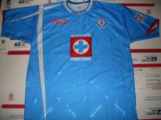 Alexis Mens Cruz Azul Mexican Soccer Jersey XL Nice