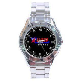 Allison Boats Stainlesss Steel Men Wrist Watch Watches