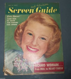 Screen Guide 1949 Movie TV June Allyson Lucille Ball Joan Crawford