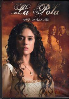 LA POLA AMAR LA HIZO LIBRE TELESERIE COLOMBIANA 12 DVDS (NO A LA