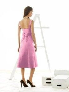 alfred sung 408 bridesmaid cocktail dress sorbet 8
