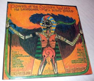 Power of The Spoken Word Language of Dying Breed Vinyl Record Album LP