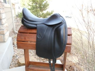 Amerigo Vega Monoflap Dressage Saddle 18 Wide