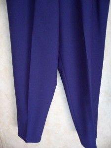 Alia Navy Blue Dress Pants Size 18 Pants Slacks Elastic Waistband