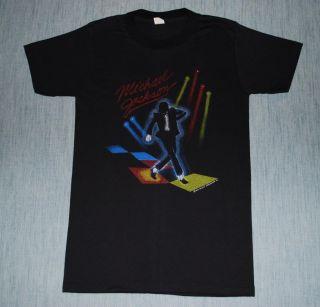 Vintage Michael Jackson Victory Tour T Shirt 1984 S