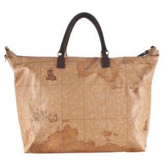 ALVIERO MARTINI 1° CLASSE Geo Soft Woman Shoulder Bag G975 Brown