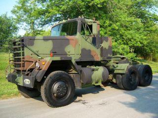 M916 AM GENERAL 6x6 MILITARY TRUCK REBUILT 17K m818 m920 m931