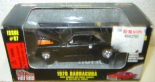 RACING CHAMPIONS 1970 Barracuda Issue # 87 HOT ROD Collectible 1/59