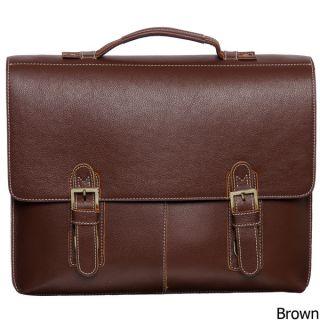 Stylish Modern Amerileather Classical Leather Organizer Briefcase