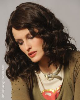 Amhurst Curly Wave 100 Human Hair Wig w Multi Skin Top