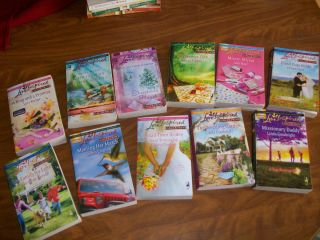 Love Inspired Larger Print Romance Books Lot of 11 Christian Novels