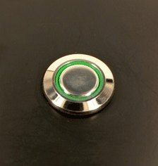 LED 12V Stainless Steel Switch Latching Push Button Angel Eye