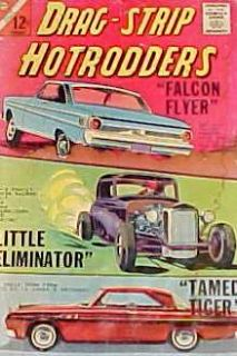 Drag Strip Hotrodders 2 Charlton 1965 Silver Age Hot Rods Racing