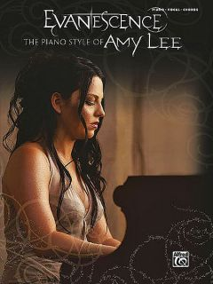 Evanescence Piano Style of Amy Lee P V G Songbook