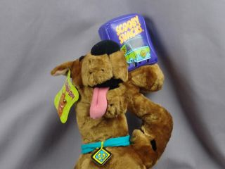 NETWORK PLUSH SCOOBY DOO SNACKS PLUSH SHAGGY DOG TOY STUFFED ANIMAL