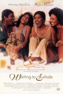 Movie Poster 27x40 Whitney Houston Angela Bassett Loretta