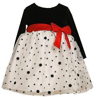 Ashley Ann Infant Toddler Girls Holiday Christmas Dress Size 18 12 24