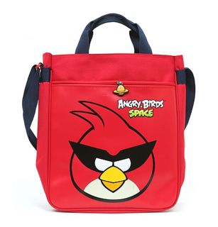 Angry Birds Space Character Shoulder Tote Bag School Messenger Cross