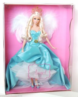 2010 COUTURE ANGEL BARBIE by Designer Ann Driskill (Platinum Blonde