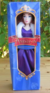 Disney Princess Anastasia Barbie Doll Growing Hair 8 Incudes Extra
