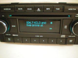 05 06 07 Dodge RAM Truck Factory 6 Disc CD  Player Changer RAQ
