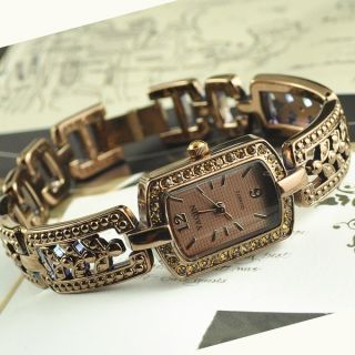 Retro Vintage Antique Jewelry Ladies Womens Bracelet Bangle Watch