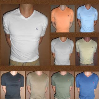 NWT Polo Ralph Lauren Mens Classic V  Neck shirt top tee New S M L