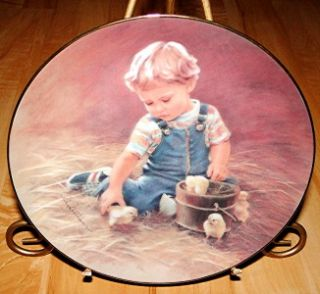 OF CHILDHOOD Special Friends ABBIE WILLIAMS Hamilton Collection Plate