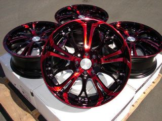 17 Effect Wheels Rims 4 Lugs Acura CL Legend Accord Elantra Sonata