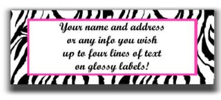 Services  Printing & Personalization  Address Labels Plain