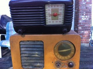Antique Tube Radio Emerson Philco Transitone