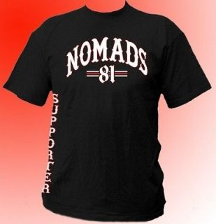 Shirt Support 81 Nomads World 666 HAMC 1% Sizes S M L XL XXL 3XL