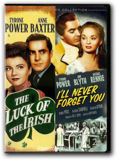 of the Irish Ill Never Forget You DVD New Tyrone Power Anne Baxter