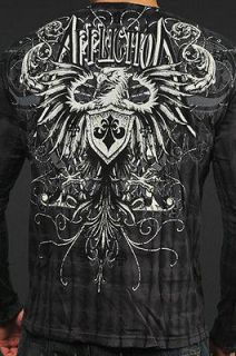 affliction fedor shirt in Clothing, Shoes & Accessories