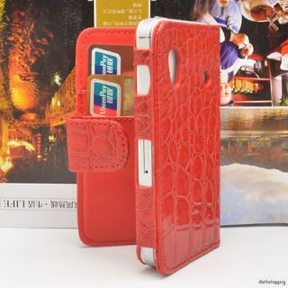 samsung galaxy ace leather case in Cases, Covers & Skins