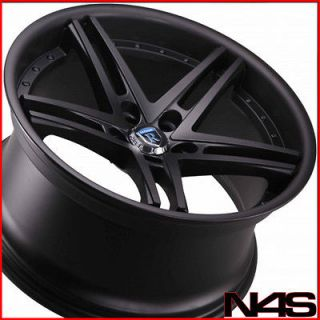 20 acura tl rohana rc5 matte black concave wheels rims