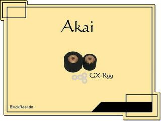 Akai GX R99 GXR99 Pinch roller Rubber roller Cassette Recorder Tape