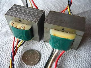 PAIR OUTPUT TRANSFORMER FOR SINGLE ENDED TUBE AMPLIFIER FREE S&H