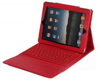 Keyboard Leather Case Apple iPad 3 the New iPad ipad 2 3rd generat