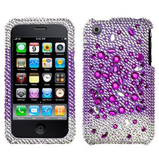 for Apple iPhone 3G 3GS Cell Phone Universe Full Bling Stone Hard Case