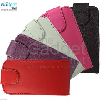 Leather Flip Case Cover Pouch Wallet for Apple iPod Touch 4 4th Gen 4G
