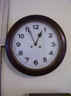 Antique Clock German Wall Clock Gallery Clock Antique Gallery Clock